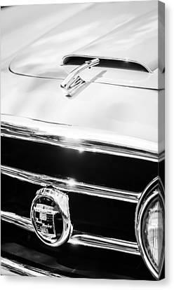 1953 Nash-healey Convertible Grille Emblem Canvas Print by Jill Reger