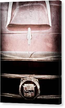 1953 Nash-healey Roadster Grille Emblem Canvas Print by Jill Reger