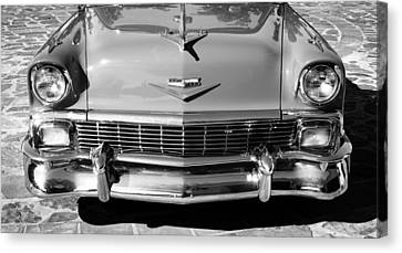 1956 Chevrolet Belair Convertible Custom V8 Canvas Print by Jill Reger