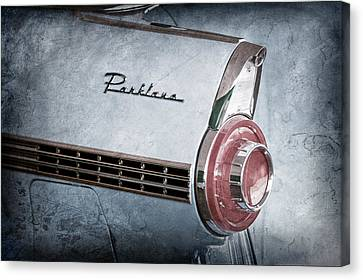 1956 Ford Parklane Wagon Taillight Emblem Canvas Print by Jill Reger