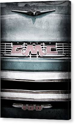 1956 Gmc 100 Deluxe Edition Pickup Truck Canvas Print by Jill Reger