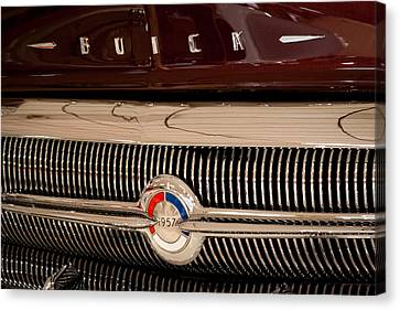 1957 Buick Canvas Print by David Patterson