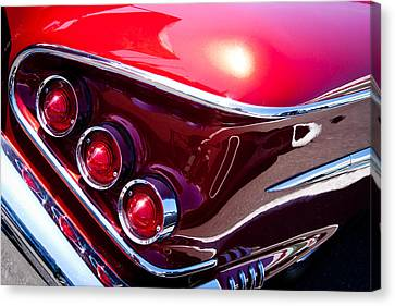 1958 Chevy Impala Canvas Print by David Patterson