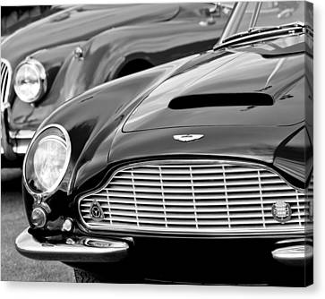 Aston Martin Canvas Print - 1965 Aston Martin Db6 Short Chassis Volante by Jill Reger