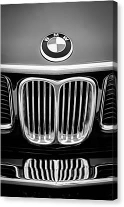1969 Bmw 2800 Cs E-9 Series Emblem Canvas Print by Jill Reger