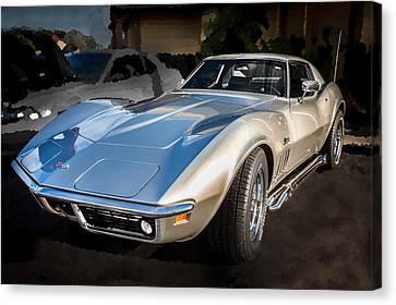 1969 Chevrolet Corvette 427 Canvas Print by Rich Franco