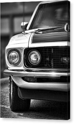 1969 Ford Mustang Mach 1 Canvas Print by Gordon Dean II