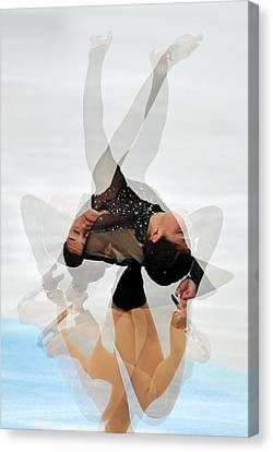 2012 European Figure Skating Canvas Print by Science Photo Library