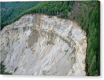 2014 Oso Mudslide Canvas Print by Us Geological Survey