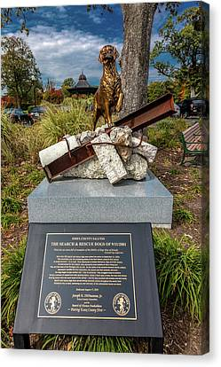 Search And Rescue Canvas Print - 911 Memorial Eagle Rock Reservation by Panoramic Images