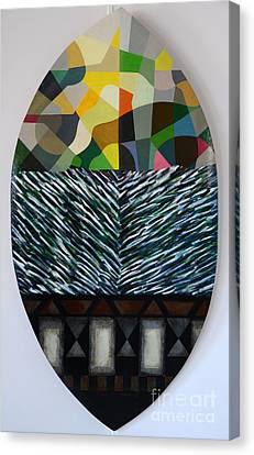 A Shield Canvas Print by Jukka Nopsanen