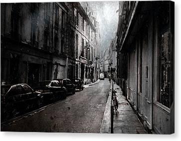 A Walk Apart Canvas Print