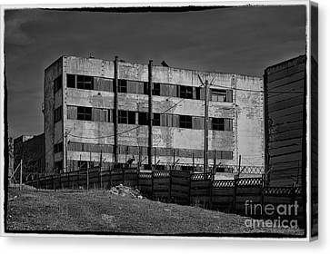 Abandoned Factory At Vadu Canvas Print by Gabriela Insuratelu