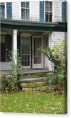 Abandoned House Canvas Print by Jill Battaglia