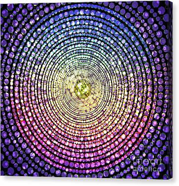 Abstract Dot Canvas Print by Atiketta Sangasaeng