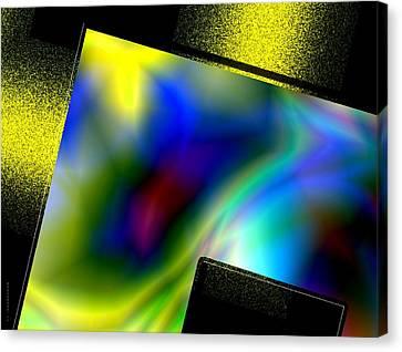 Abstract Geometric Art Canvas Print by Mario Perez