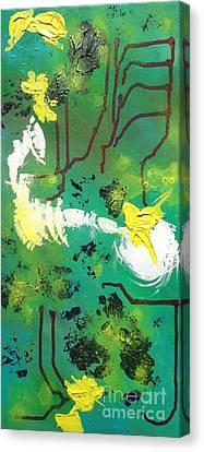 Abstract Canvas Print by Kateryna Kurylo