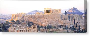 Acropolis, Athens, Greece Canvas Print by Panoramic Images