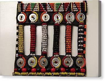 Africa, Kenya Maasai Tribal Beadwork Canvas Print by Kymri Wilt