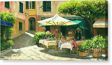 Portofino Italy Canvas Print - Afternoon Delight by Michael Swanson