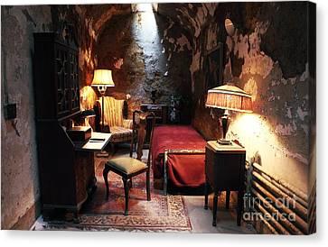 Al Capone's Cell Canvas Print by John Rizzuto