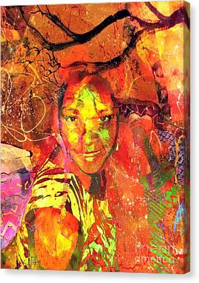 Alive Canvas Print by Fania Simon