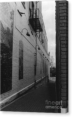 Alley Canvas Print by Michelle OConnor