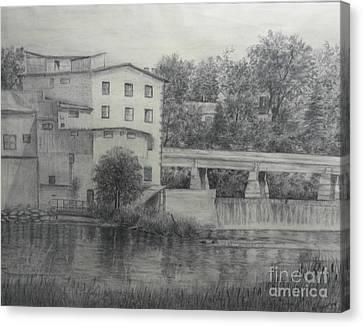 Almonte Heritage Buildings Canvas Print
