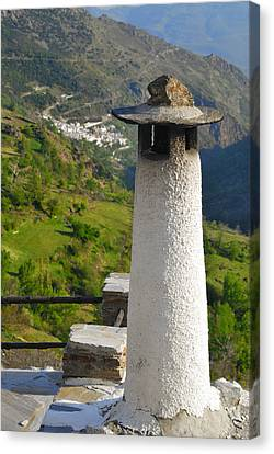 Alpujarras In Granada Canvas Print by Guido Montanes Castillo