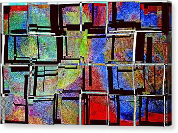 Altered Circles Canvas Print by Jim Whalen