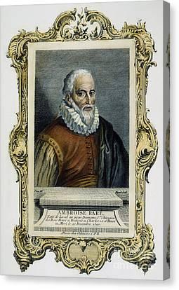Ambroise Pare (1517?-1590) Canvas Print by Granger