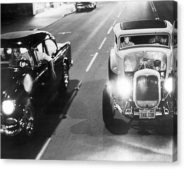 American Graffiti  Canvas Print