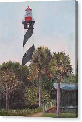 Anastasia Lighthouse Canvas Print