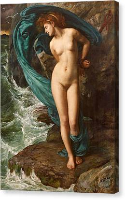 Andromeda Canvas Print by Edward John Poynter