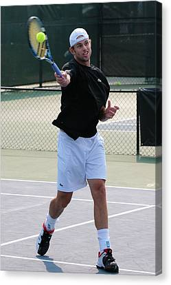 Andy Roddick Canvas Print by James Marvin Phelps