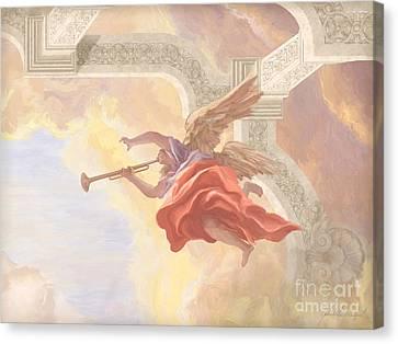 Angel In Flight Canvas Print