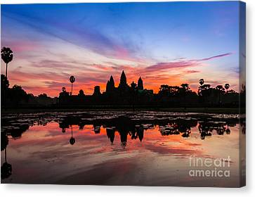 Canvas Print - Angkor Wat Sunrise by Fototrav Print