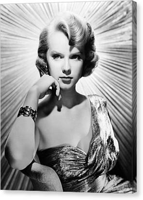 Anne Francis Canvas Print by Silver Screen