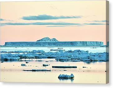 Antarctic Iceberg Canvas Print