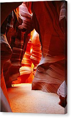 Antelope Canyon  Canvas Print by Aidan Moran