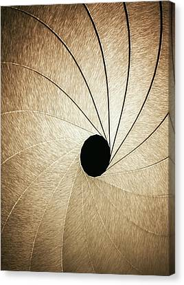 Aperture Canvas Print by Ktsdesign