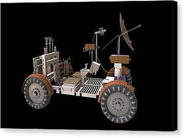 Apollo Lunar Rover Canvas Print