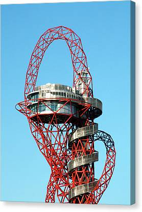 Arcelormittal Orbit Canvas Print by Alex Bartel
