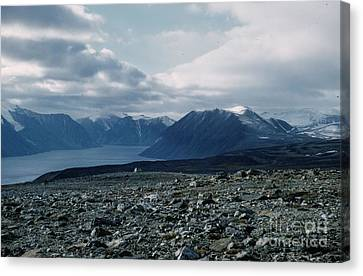 Arctic Baffin Island Canvas Print by Ted Pollard