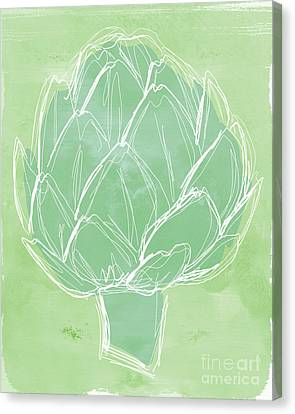 Artichoke Canvas Print by Linda Woods