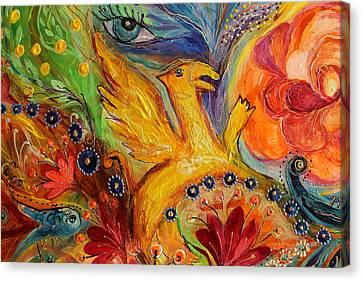 Artwork Fragment 85 Canvas Print by Elena Kotliarker