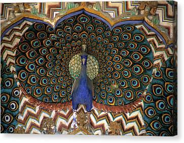 Asia, India, Jaipur Canvas Print by Kymri Wilt