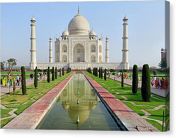 Asia, India, Uttar Pradesh, Agra Canvas Print by Steve Roxbury