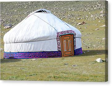 Asia, Western Mongolia, Khovd Province Canvas Print