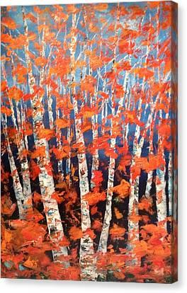 Aspen Abstract Canvas Print